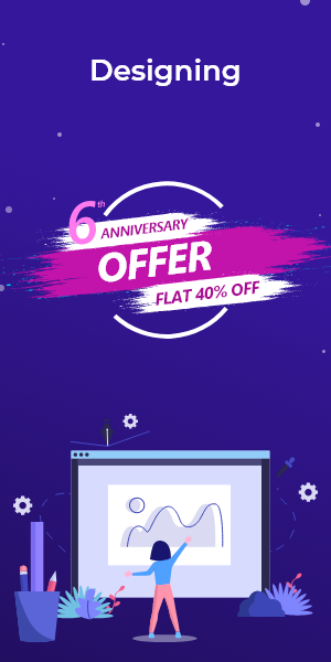 Anniversary Offer on Designing