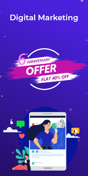 Anniversary Offer on Digital Marketing