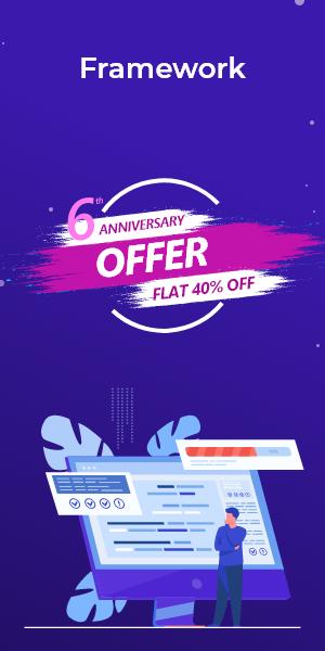 Anniversary Offer on Framework