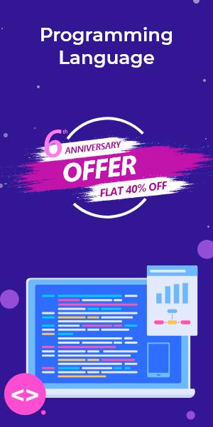 Anniversary Offer on Programming Language
