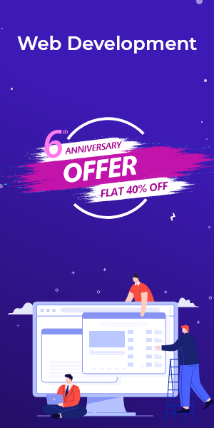 Anniversary Offer on Web Development