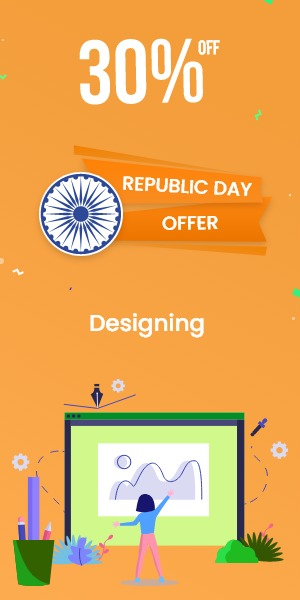Republic Day Offer on Designing
